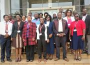 Group of workshop participants at Catholic University of East Africa (July 2017).