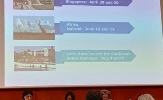The locations and dates of the three regional seminars are announced during the 38th meeting of the WIPO Standing Committee on Copyright and Related Rights (SCCR/38) in April 2019.
