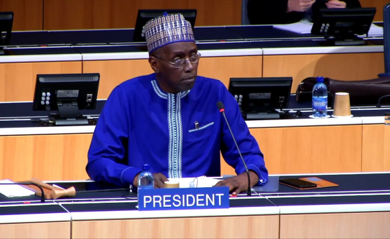 Mr Aziz Dieng, who acted as chair during WIPO SCCR/41.