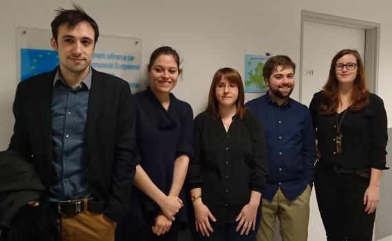 Photo of translation team