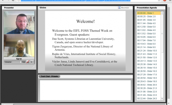 Simon Ball introduces speakers to webinar participants.