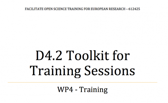The toolkit, developed by EIFL, provides a number of tested and proven guides for organizing training events.