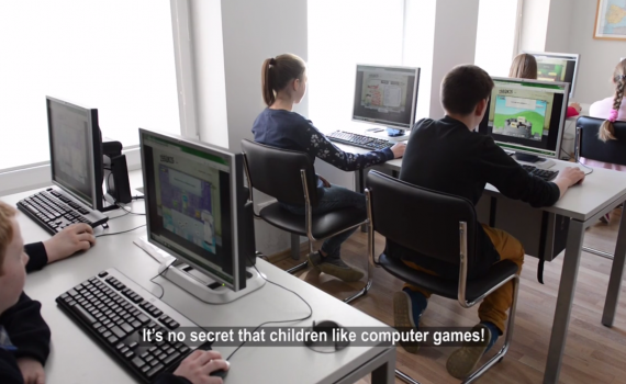 Video How a public library computer game is helping at