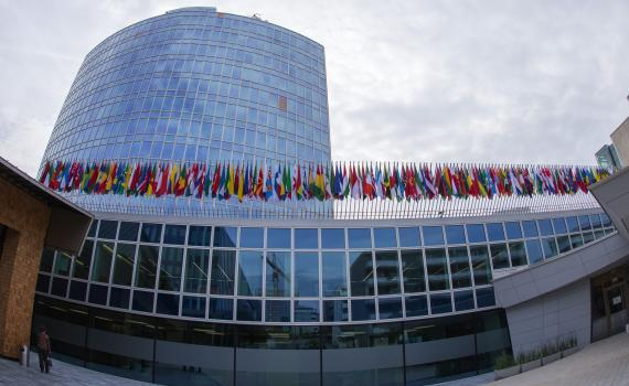 WIPO headquarters in Geneva. Credit: U.S. Mission Geneva/ Eric Bridiers, Link https://www.flickr.com/photos/us-mission/15339685942