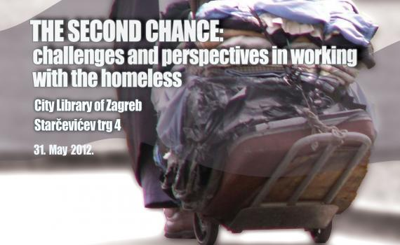 Image of cover of the Zagreb City Libraries booklet of papers from their conference on homelessness in Croatia.